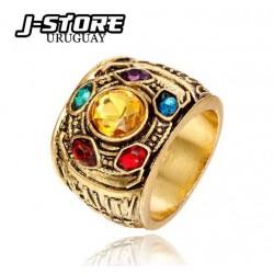 anillo Thanos Gemas del infinito Avengers