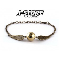 Pulsera Harry Potter snitch dorada