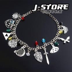 pulsera de dijes Zelda