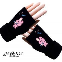 guantes sin dedos BTS BT21 COOKY