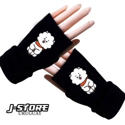 guantes sin dedos BTS BT21RJ