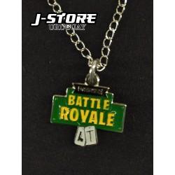 Collar Fortnite Battle Royale verde