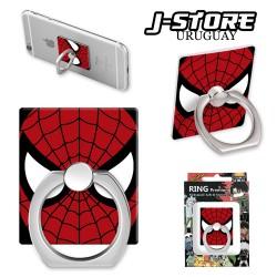 Anillo para celular Spiderman