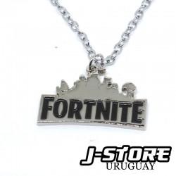 Collar Fortnite plateado