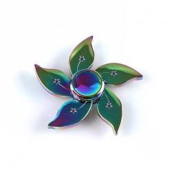 Spinner tornasolado flor