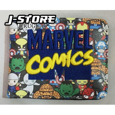 billetera Marvel